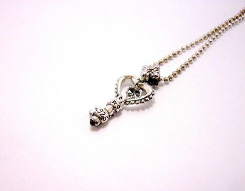 他の写真1: Key Pendant with Chain(ガーネット)【DEVAROSE】