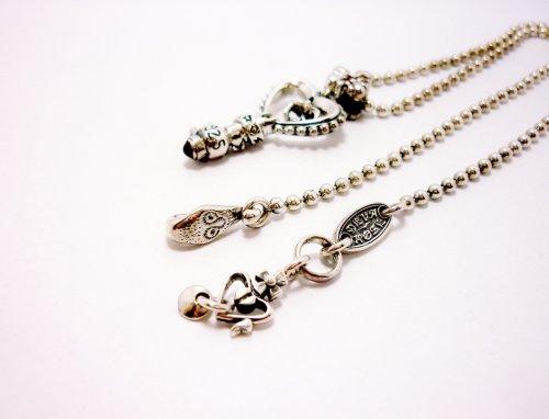 他の写真3: Key Pendant with Chain(ガーネット)【DEVAROSE】