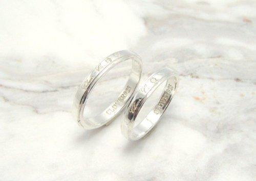他の写真1: CLOVER Original Formula Pair Rings/Silver925 リング