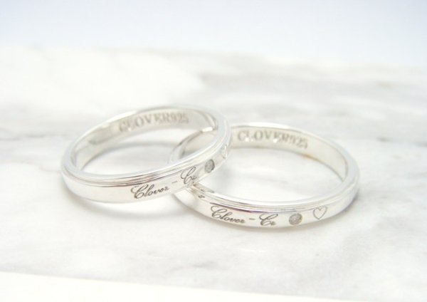 画像1: CLOVER Original Formula Pair Rings/Silver925 リング