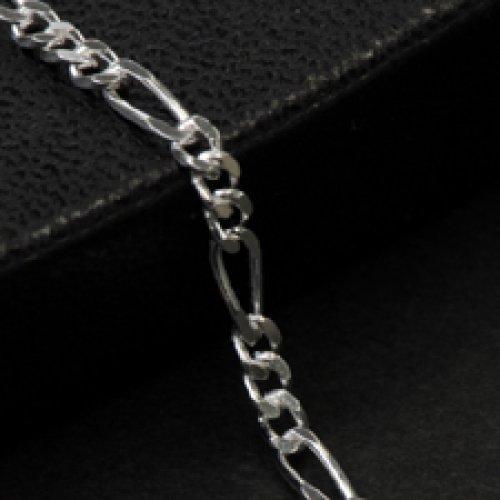 他の写真1: シルバーチェーン フィガロ [FG] Silver925