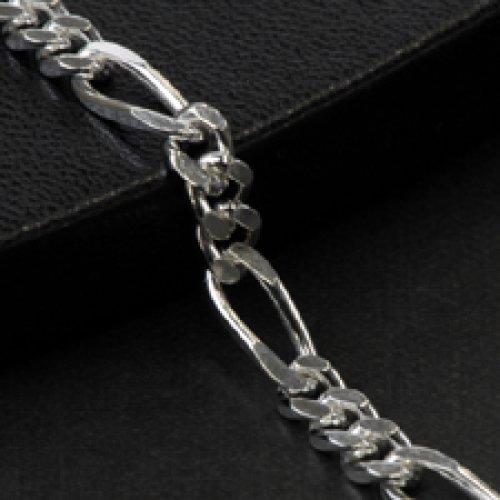 他の写真2: シルバーチェーン フィガロ [FG] Silver925