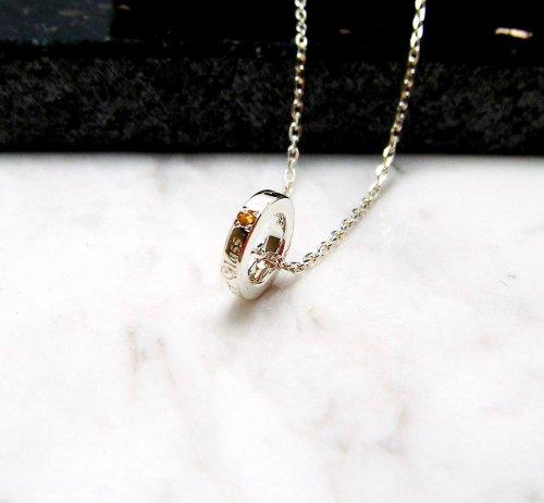 他の写真2: クローバーグラス ベビーリング・チャーム・ペンダント CLOVER GLASS Baby Ring Charm GOLD K10 誕生石 メンズ レディース CGP-02/SV CLOVER925オリジナルペンダント