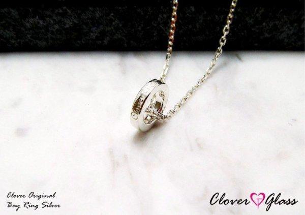 画像1: クローバーグラス ベビーリング・チャーム・ペンダント CLOVER GLASS Baby Ring Charm GOLD K10 誕生石 メンズ レディース CGP-02/SV CLOVER925オリジナルペンダント