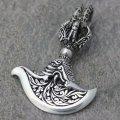 ソカロ チベタン・ドラゴン・カルティカ・ドージェ・ペンダント(S) ZZPDS-0088 ZOCALO ペンダントトップ