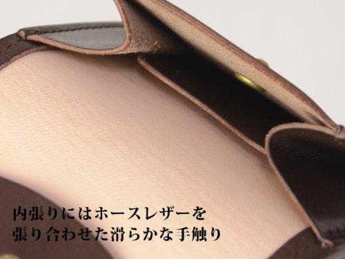 他の写真1: GOD FISH ゴッドフィッシュ GF-C コインケース チョコレート ミシンソーイング 小銭入れ