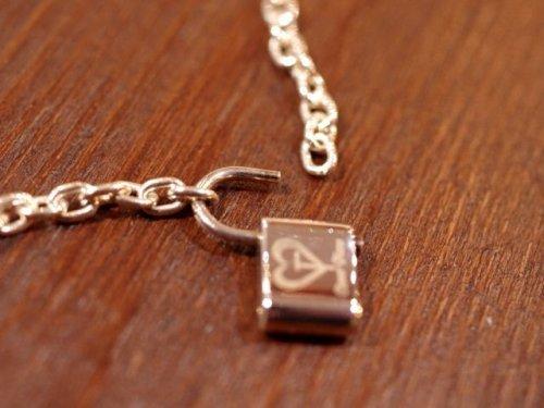 他の写真2: クローバーグラス パドロック・ブレスレット 南京錠ブレスレット CLOVER GLASS Padlock Bracelet CGB-01 CLOVER925オリジナルブレスレット