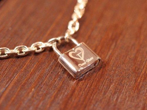 他の写真1: クローバーグラス パドロック・ブレスレット 南京錠ブレスレット CLOVER GLASS Padlock Bracelet CGB-01 CLOVER925オリジナルブレスレット