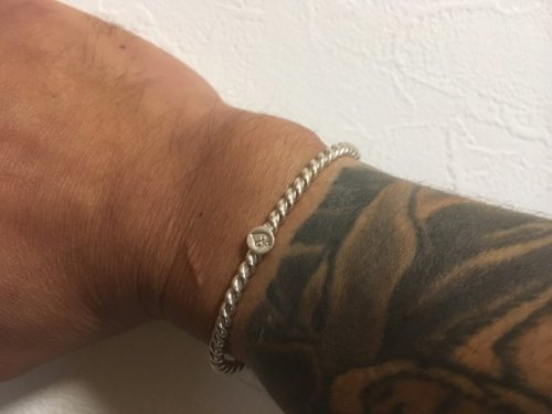 他の写真3: カルチャーゲート アラベスク・コイルバングル シルバーバングル bracelet-No.22 【Culture Gate】