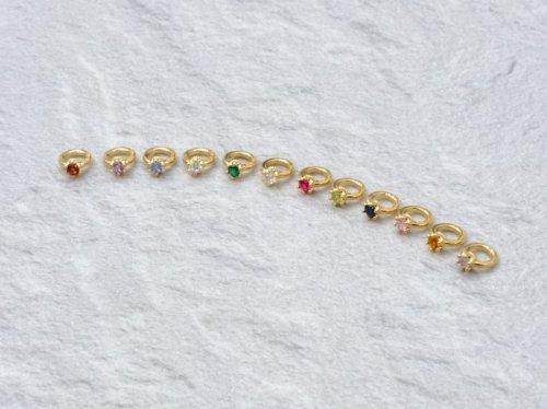 他の写真2: クローバーグラス クラウン・ベビーリング・ペンダント CLOVER GLASS Crown Baby Ring Pendant 誕生石 CGP-06/G CLOVER925オリジナルペンダント