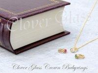 クローバーグラス クラウン・ベビーリング・ペンダント CLOVER GLASS Crown Baby Ring Pendant 誕生石 CGP-06/G CLOVER925オリジナルペンダント
