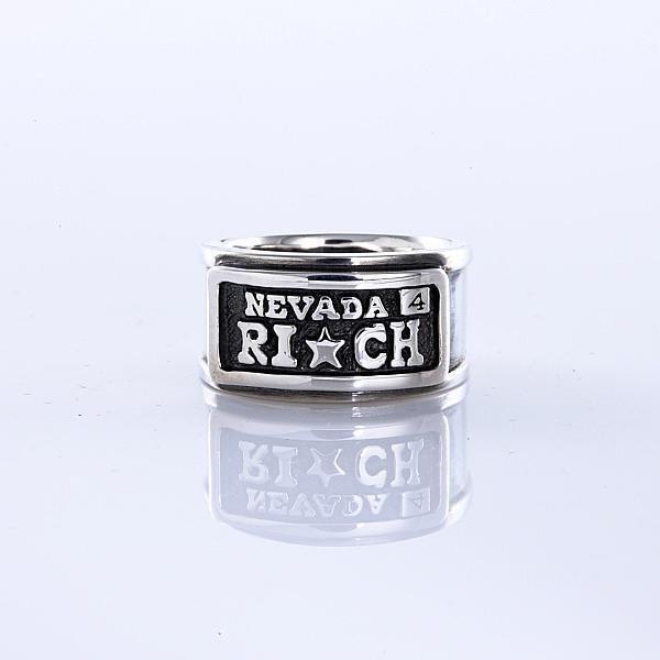 画像1: RICH PLATE RING