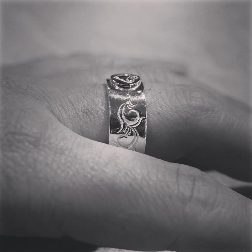 大きめサイズのリング