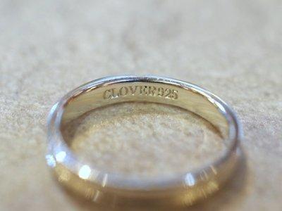 画像2: CLOVER Original Cross Line Pair Rings/Silver925 ペアリング